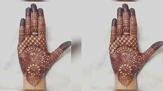 Simple Mehndi Designs For Front Hands For Beginners