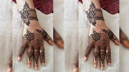 Simple Mehndi Designs Full Hand Easy