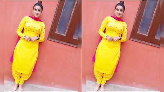 Simple Patiala Punjabi Salwar Suit