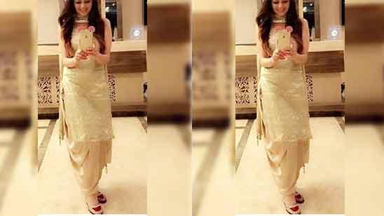 Simple Punjabi Salwar Suit