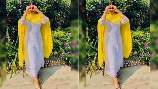 Simple Punjabi Suit