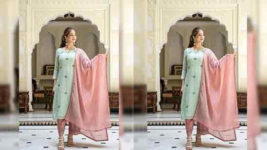 Simple Salwar Suit For Girls