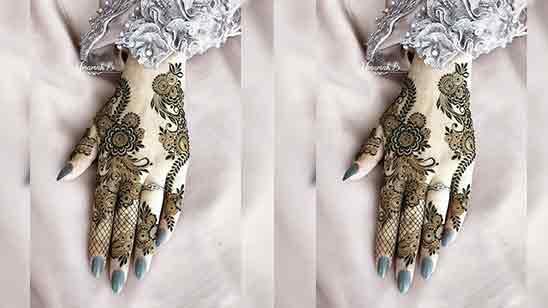 Small Hand Mehndi Design Easy