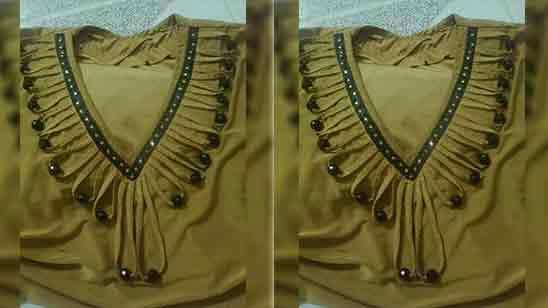 Suit Front Neck Design