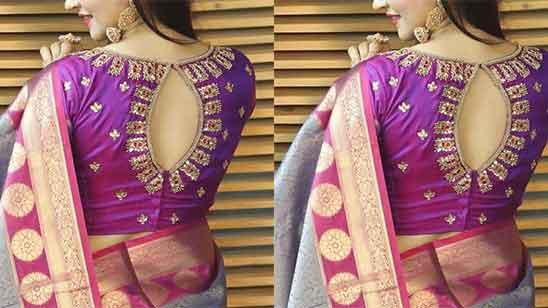 Wedding Aari Work Blouse Designs