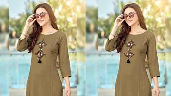 34 Sleeves Design For Kurti