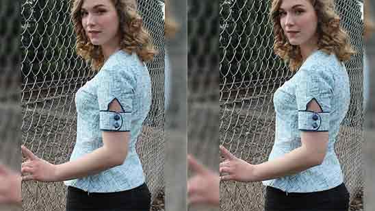 3/4 Sleeves Design For Kurti