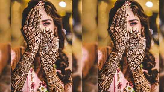 Arabic Bridal Mehndi Designs For Back Hand