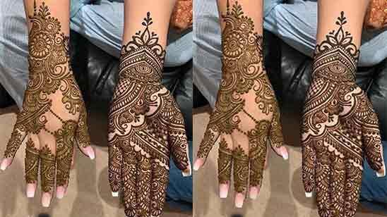 Arabic Mehndi Designs Full Hand
