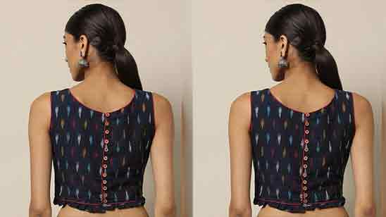 Back Designa For Saree Blouse