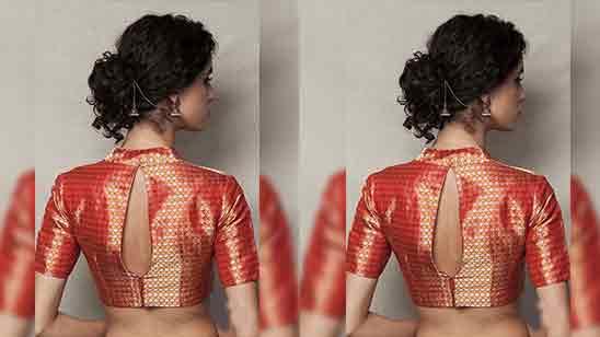 Back Design In Blouse