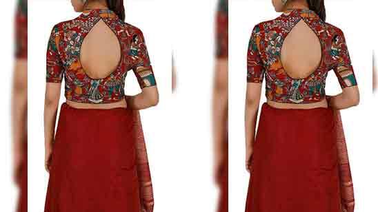 Back Design Of Blouse