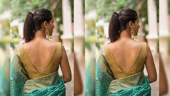 Back Design Of Blouse Latest