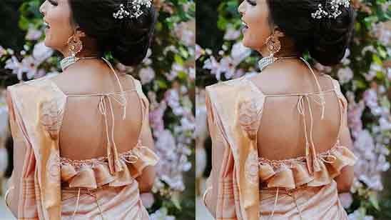 Back Side Blouse Design