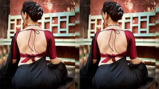 Back Side Blouse Designs