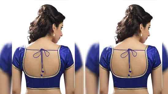 Back Side Design Blouse