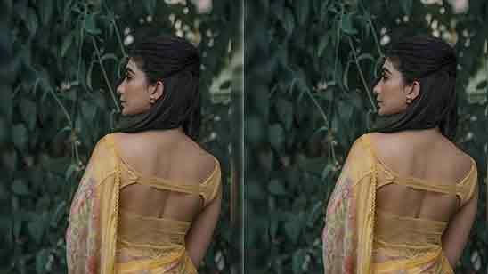 Back Side Fancy Blouse Designs
