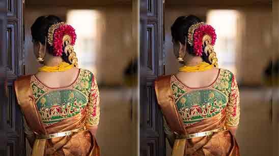 Back Side Marathi Paithani Blouse Designs