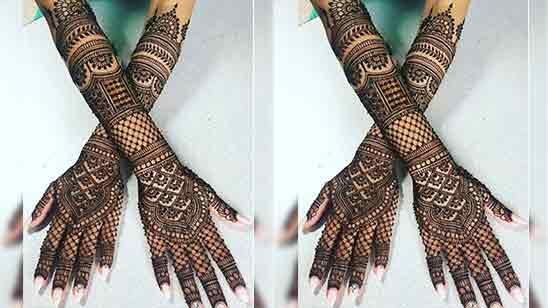 Best Bridal Mehndi Designs for Full Hands