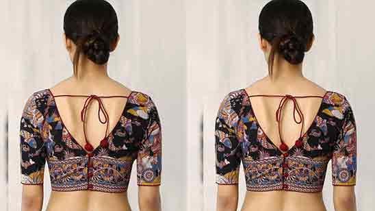 Blouse Design Back Side Simple
