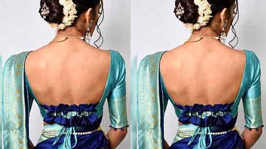 Blouse Design Images Back Side