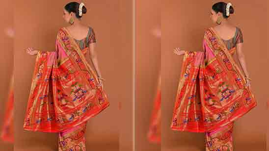 Blouse Design Paithani