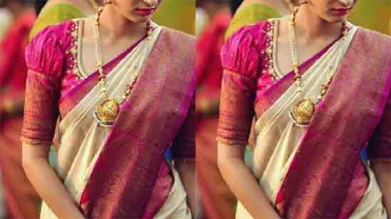 Blouse Neck Designs For Pattu Saree
