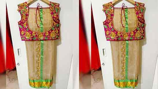 Blouse+designs+back+side+simple