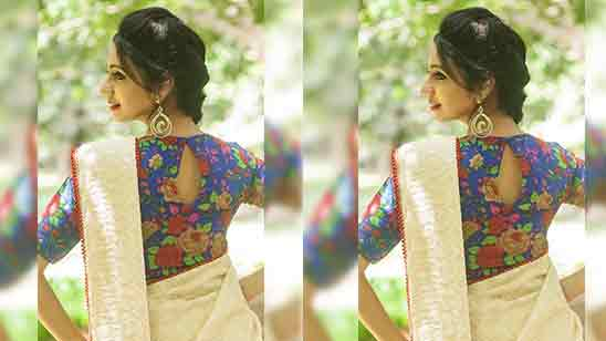 Boat Neck Blouse Designs Front And Back
