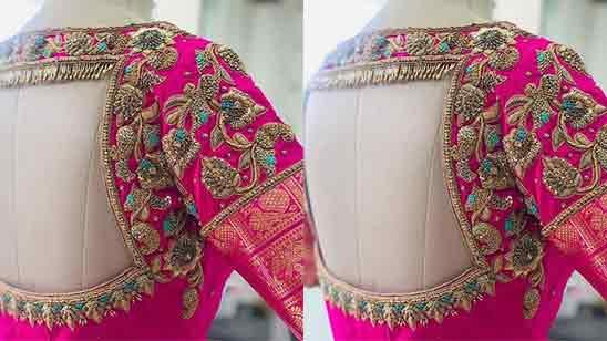 Bridal Aari Work Blouse Designs Images