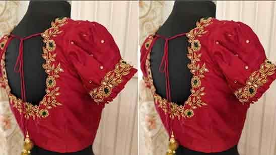 Bridal Blouse Work Designs