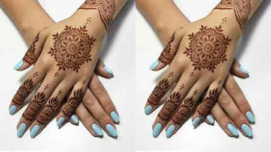 Bridal Easy Mehndi Design