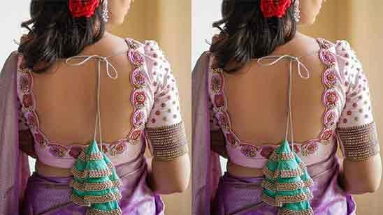 Bridal Maggam Work Blouse Designs