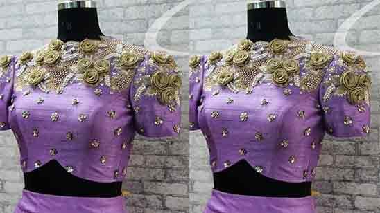 Bridal Maggam Work Designs
