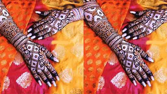 Bridal Mehndi Designs Full Hands and Legs