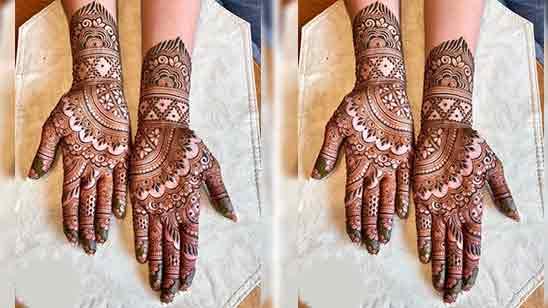 Bridal Mehndi Designs Full Hands