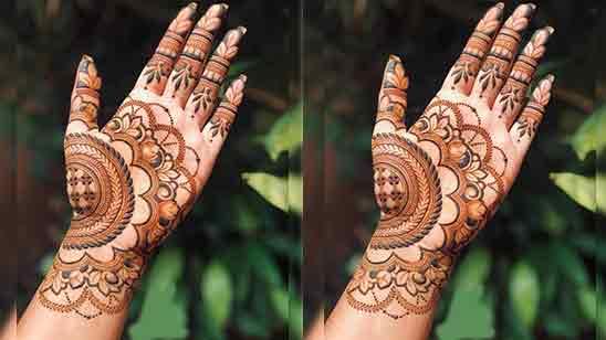 Bridal Simple Mehndi