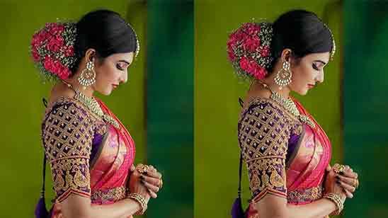 Bridal Work Blouse Designs