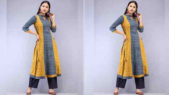 Churidar 3 4 Sleeve Designs