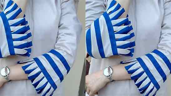 Cuff Sleeves Design For Kurti