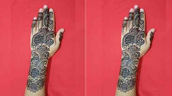 Easy Bridal Mehndi Designs For Hands