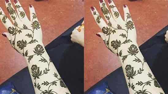 Easy Flower Mehndi Designs For Beginners