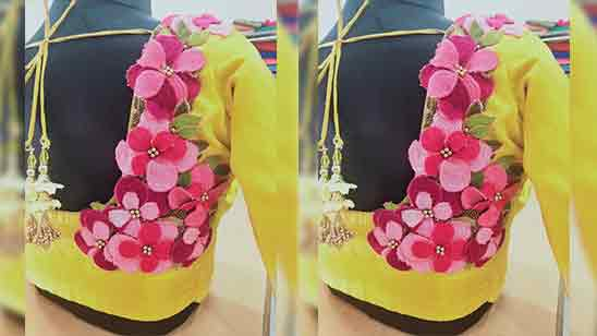 Embroidery Blouse Neck Designs