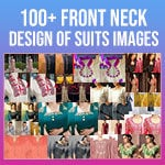 Front Neck Design of Suits