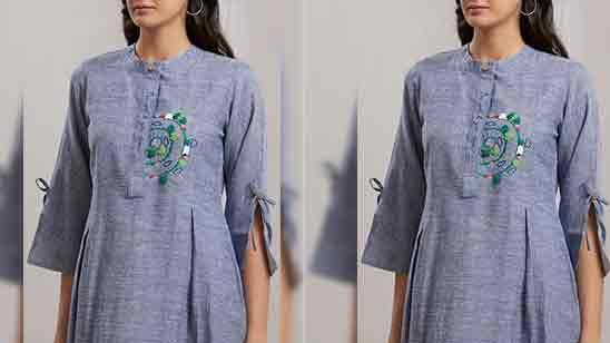 Fancy Sleeves Design For Kurti
