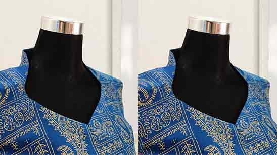 Front Neck Designs of Suits
