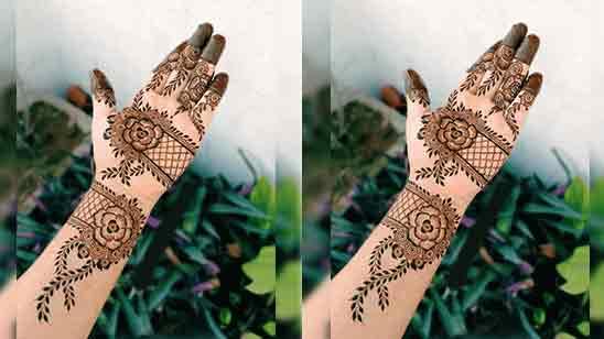 Full Hand Mehndi Design Simple And Easy