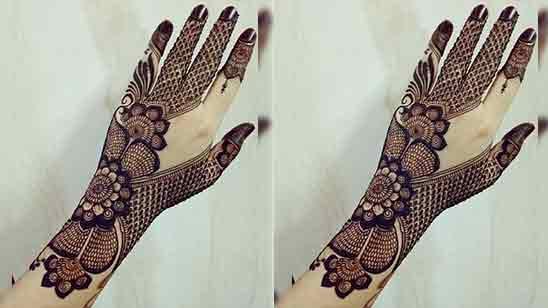 Full Hand Simple Mehndi Design Easy And Beautiful
