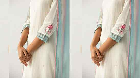 Kurti Sleeves Design Cutting And Stitching