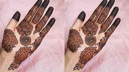 Latest Finger Mehndi Design